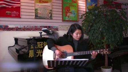 涂涂《红蔷薇》朱丽叶指弹吉他弹唱