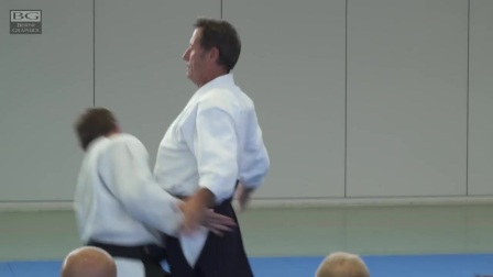 Aikido- Christian Tissier - 呼吸投げ