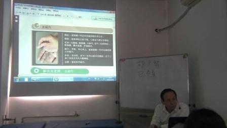中医针灸推拿培训邱雅昌董氏奇穴大间穴的解说