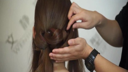 新娘发型视频1新娘造型韩式新娘妆眼妆 (33)16新娘化妆造型宝典