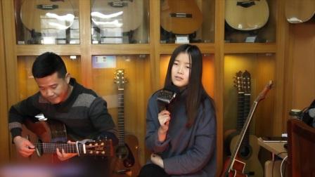 郭咚咚月月《陈洁仪-心动》朱丽叶指弹吉他弹唱