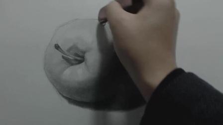 央美名师讲解:素描基础教程——如何画好苹果的6大技巧下