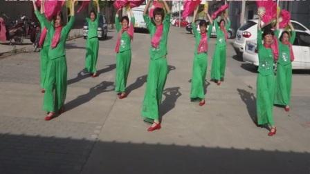 廊坊市安次区杨税务乡东固城村九龙明星舞蹈队燕赵情怀广场舞视频