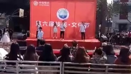 德阳安装技师学院歌唱大赛《告白气球》
