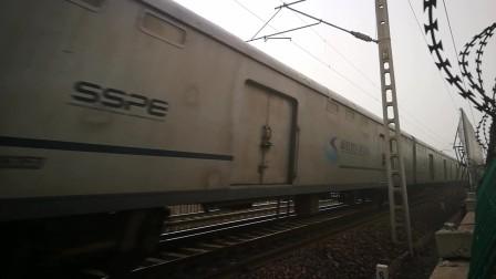 京广铁路拍摄X111次(黄村/固安—石龙)