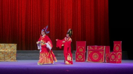 福建省水仙花剧院《花木兰传奇》录像12