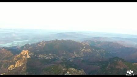 无人机航拍山东泰安泰山 五岳之尊