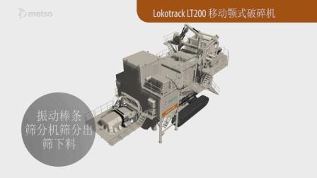 Lokotrack LT200E —— 世界上最大的移动颚式破碎站