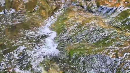 灯芯湖瀑布