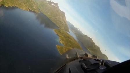F 16 超低空飞行