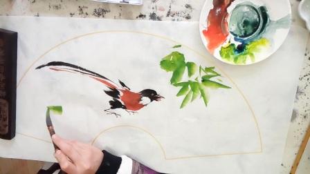 国画花鸟-三人行书画院QQ3053076205