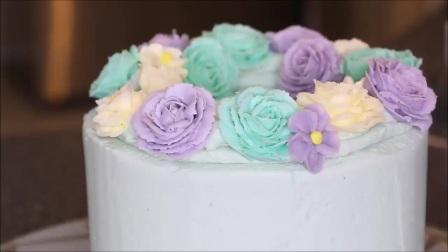 生日蛋糕制作视频_生日蛋糕裱画_生日蛋糕
