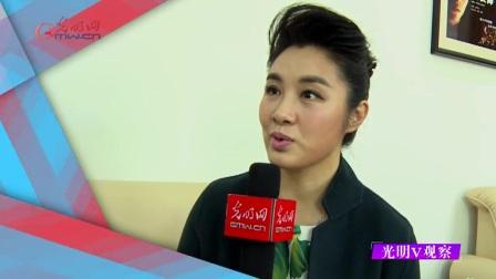 空政文工团青年歌唱家刘一祯接受光明网专访