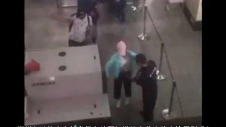 郑州长途汽车站多名女子遭袭胸安检 故意在女子胸部揉来揉去照片曝光很恶心,涉事者被拘
