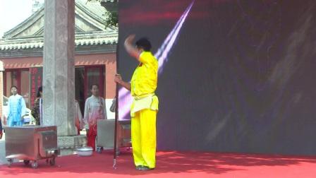 第六届白云杯太极邀请赛嘉宾表演——北京体育大学
