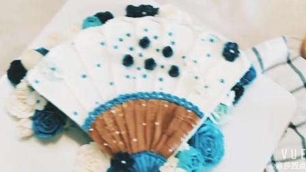 意莎西点:蛋糕裱花技巧_裱花的基本手法_韩式裱花培训视频教程