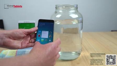 【趣测网首发】Xiaomi Mi 6 防水性能测试