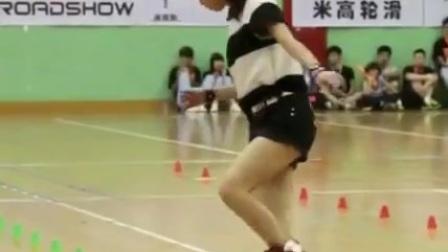 超帅花式街头滑轮高难度精彩表演03