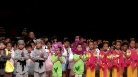 幼儿园20周年校庆之浴佛庆典