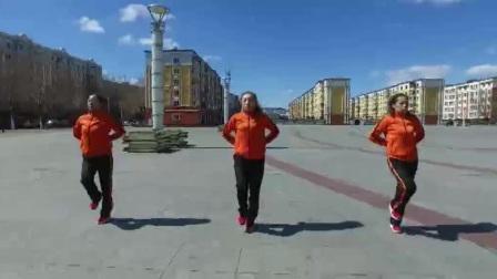 梦之队健身操第十一套教学视频