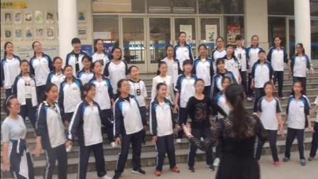 上林中学合唱排练视频