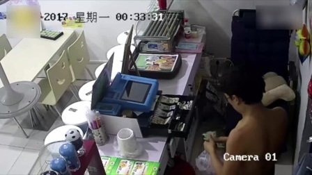 河北霸州一名男子从一家汉堡店的排气扇孔钻进去