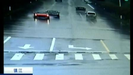 新手司机上路 过路口三项违章引车祸 170510 新闻空间站
