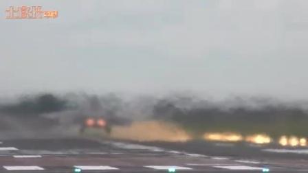 F-22矢量发动机发力瞬间拔地而起