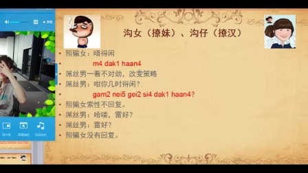 学粤语学习入门教学教程——粤语重点词6