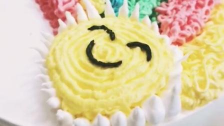 意莎西点:生日蛋糕裱花_蛋糕裱花培训使用技巧教学视频