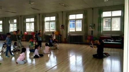 陕西省商业幼儿园六一排练现场2