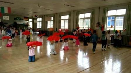 陕西省商业幼儿园六一排练现场3