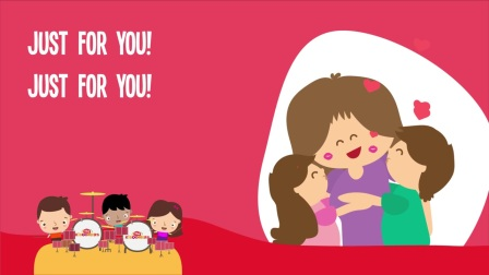 Hugs and Kisses for Mommy - Kids