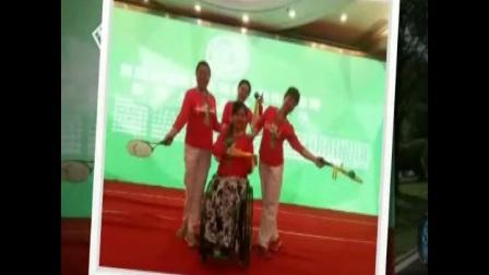 西安莲湖残疾人轮椅柔力球表演队的亮丽风采!