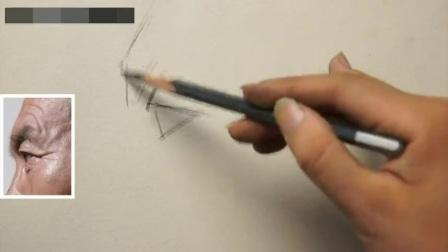素描培训素描人头像教学_素描石膏五官_速写建筑丙烯画技法