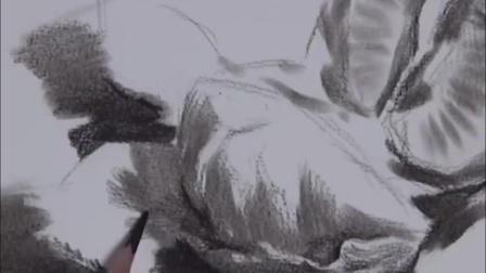 素描透视入门 男生头像素描 美术素描入门