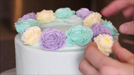 东日经典翻糖蛋糕 翻糖蛋糕欣赏