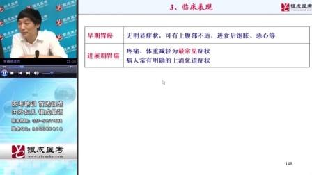 【银成医考】2015医师资格考试——消化性溃疡与胃癌③