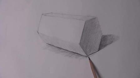素描几何形体入门_女人体素描模特_素描头像
