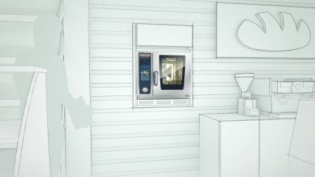 全新小尺寸万能蒸烤箱SelfCookingCenter XS与CombiMaster Plus XS