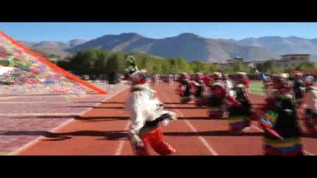 西藏日喀则市南木林二中校歌《七彩二中》