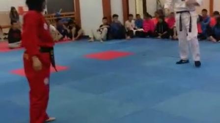 跆拳道防身术
