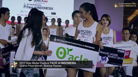 2017 FACE of INDONESIA GrandPrizeWinner