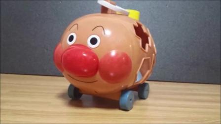 面包超人玩具清爽眼药水!已经采取了眼痛!?动漫集体电视❤医生假扮玩耍的儿童玩具动漫