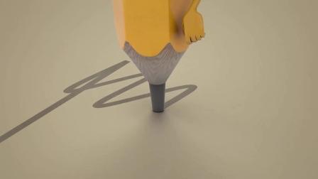 G100卡通铅笔小人舞动爱情图片展示