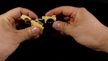 战损引擎DIY改造变形金刚玩具视频08-国产金刚小改大杂烩_高清