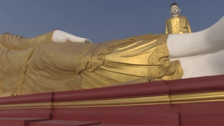 Monywa (partie 2) La deuxième plus grande statue au monde
