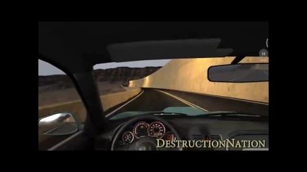 BeamNG拟真车祸模拟器高速汽车碰撞