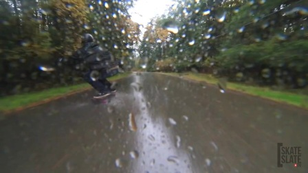Manu Duhamel x Old Child Media- Ripping Through The Rain - Skate[Slate]