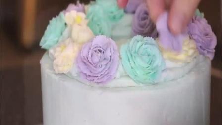 制作生日蛋糕全过程